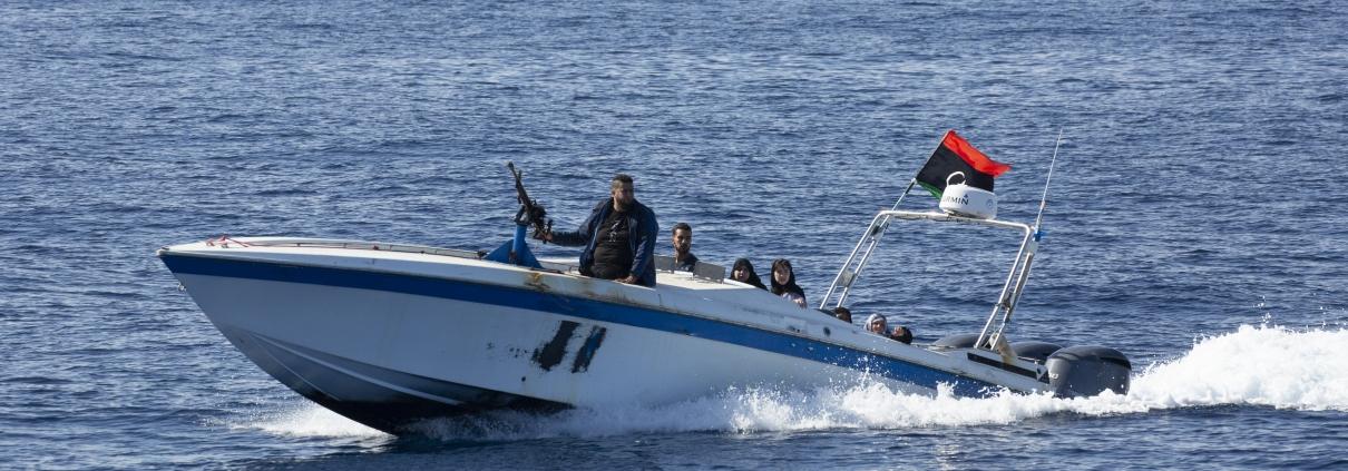 Milizen stören Rettungseinsatz der ALAN KURDI im Mittelmeer