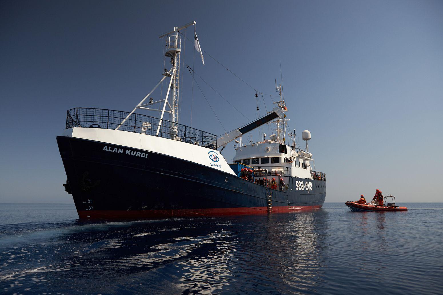 ALAN KURDI im Mittelmeer