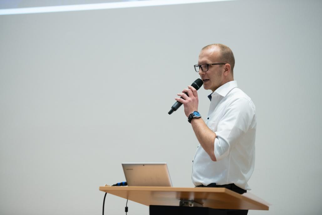 Info- und Crewtreffen: Eike Ketzler
