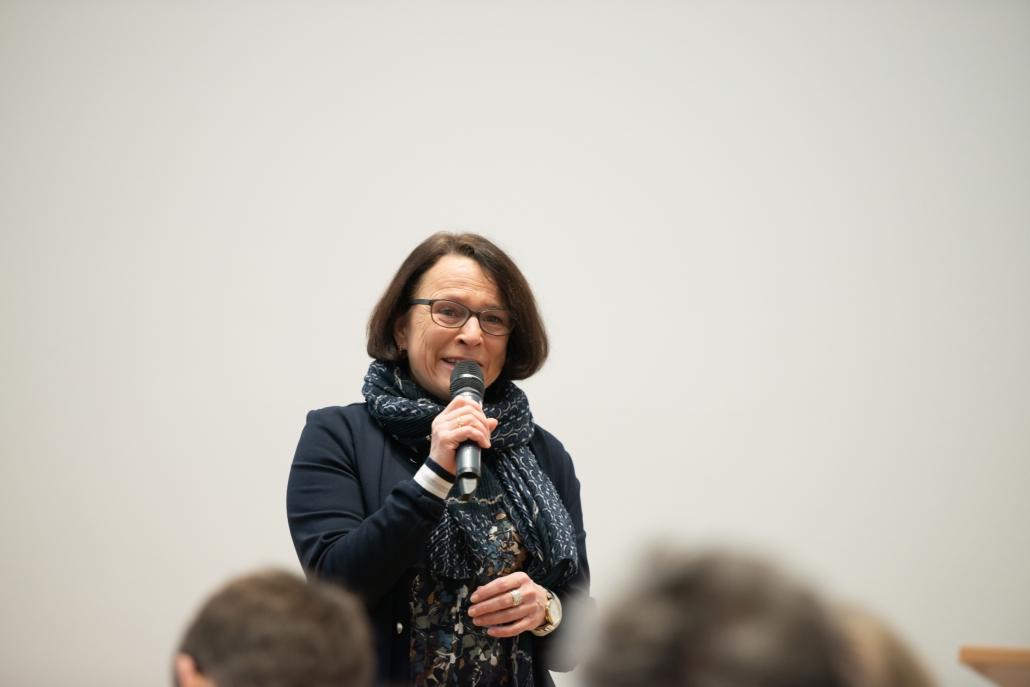 Info- und Crewtreffen: Gertrud Maltz-Schwarzfischer (Regensburger Bürgermeisterin)