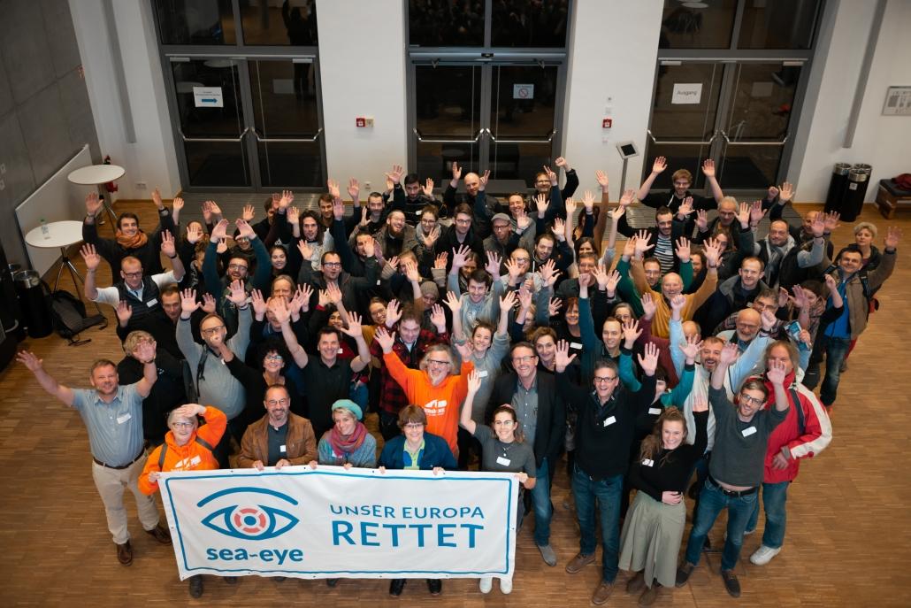 Info- und Crewtreffen: Gruppenfoto