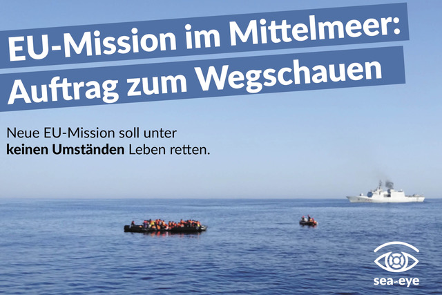 Petition: Europas Schiffe müssen retten