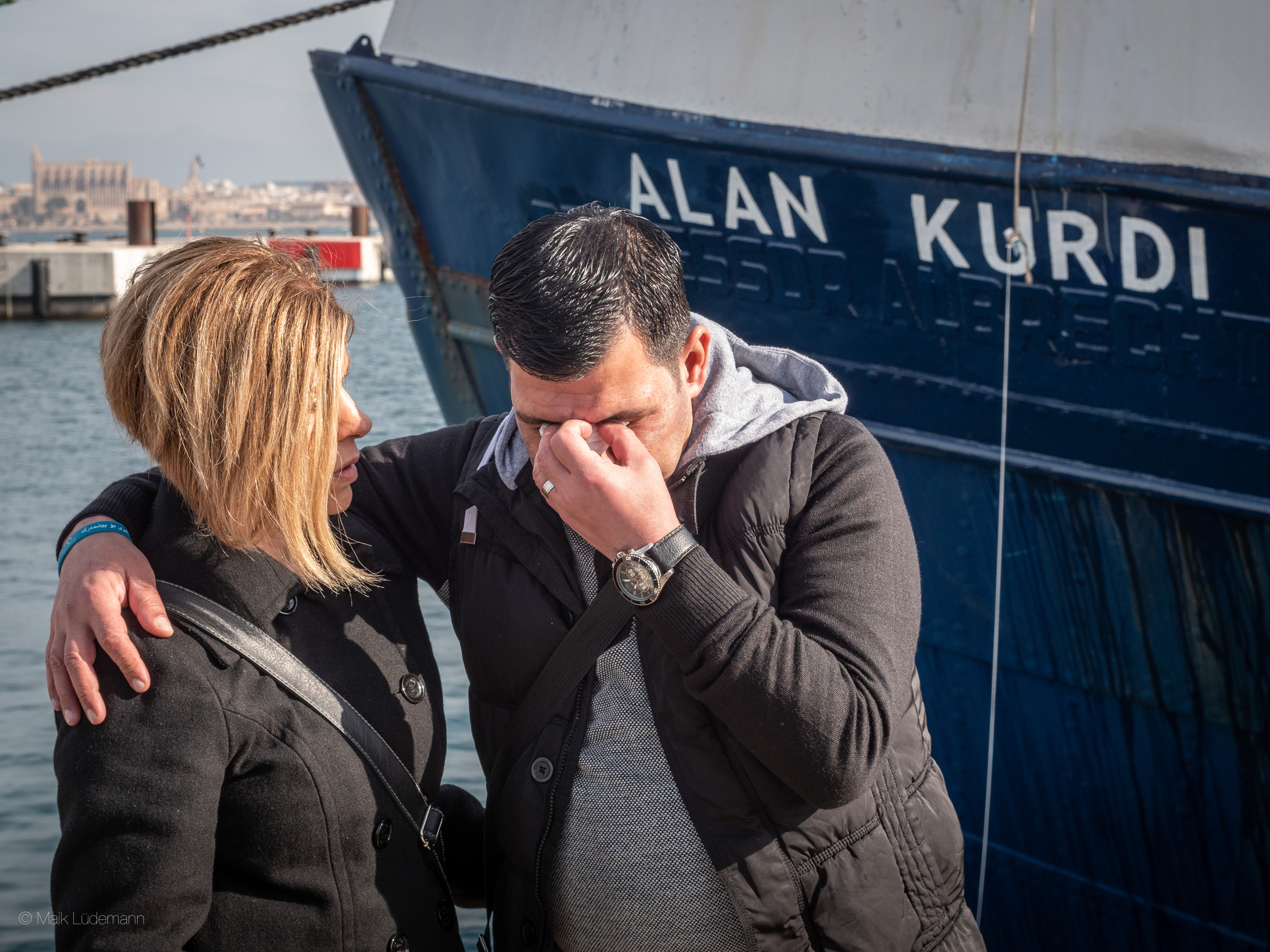 Schiffstaufe: ALAN KURDI