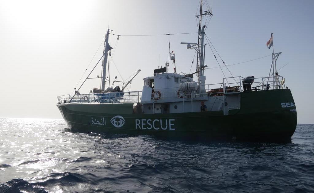 SEA-EYE nel Mediterraneo