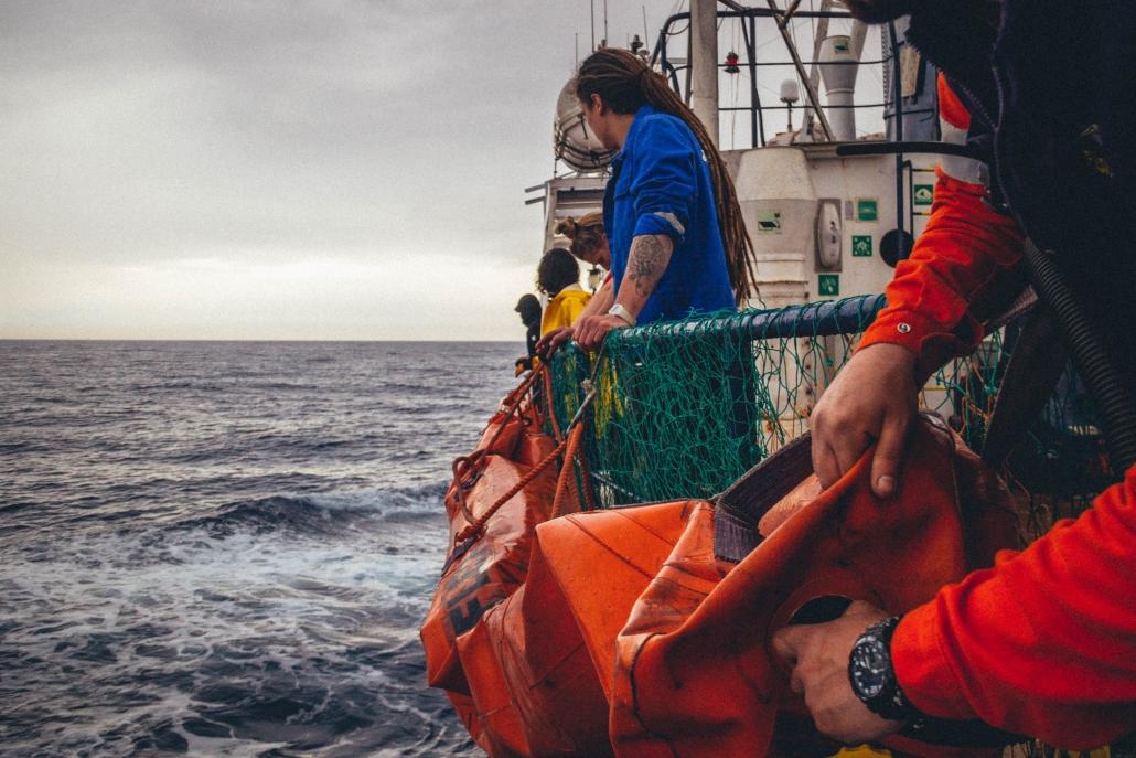 ALAN KURDI auf dem Mittelmeer
