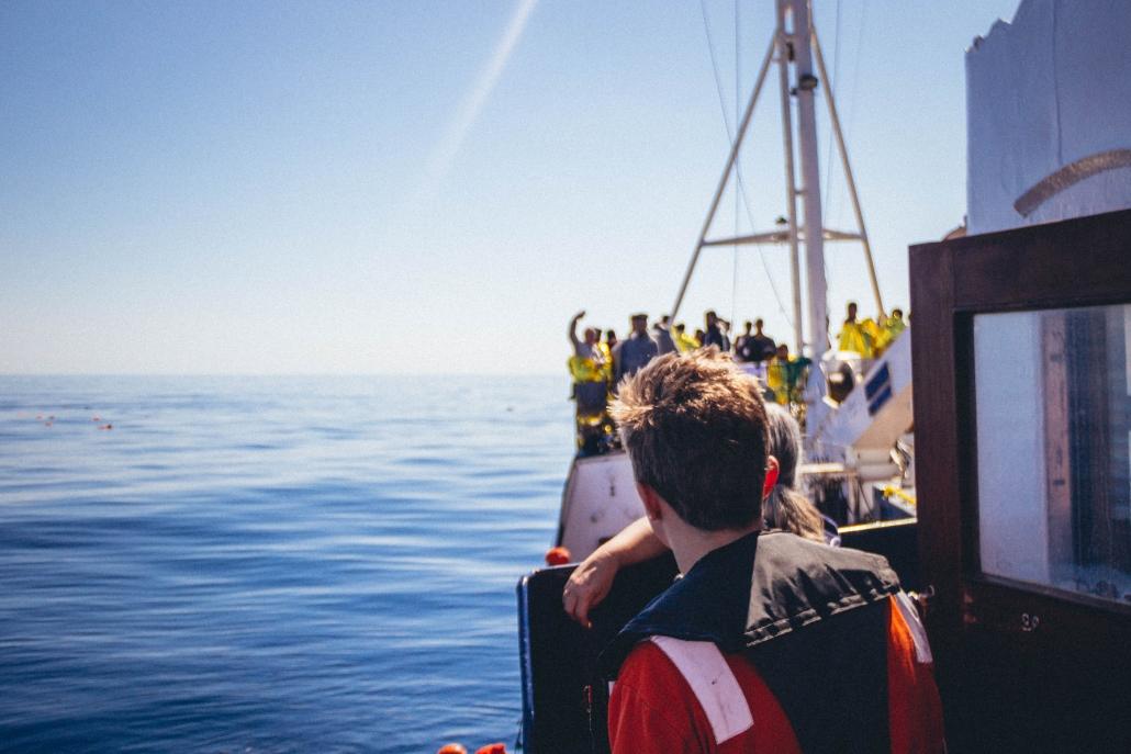 ALAN KURDI mit Geretteten an Bord