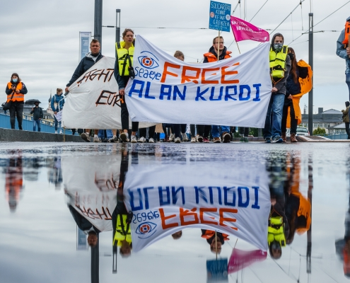 Demonstration in Bonn © Simon Fuhrmann