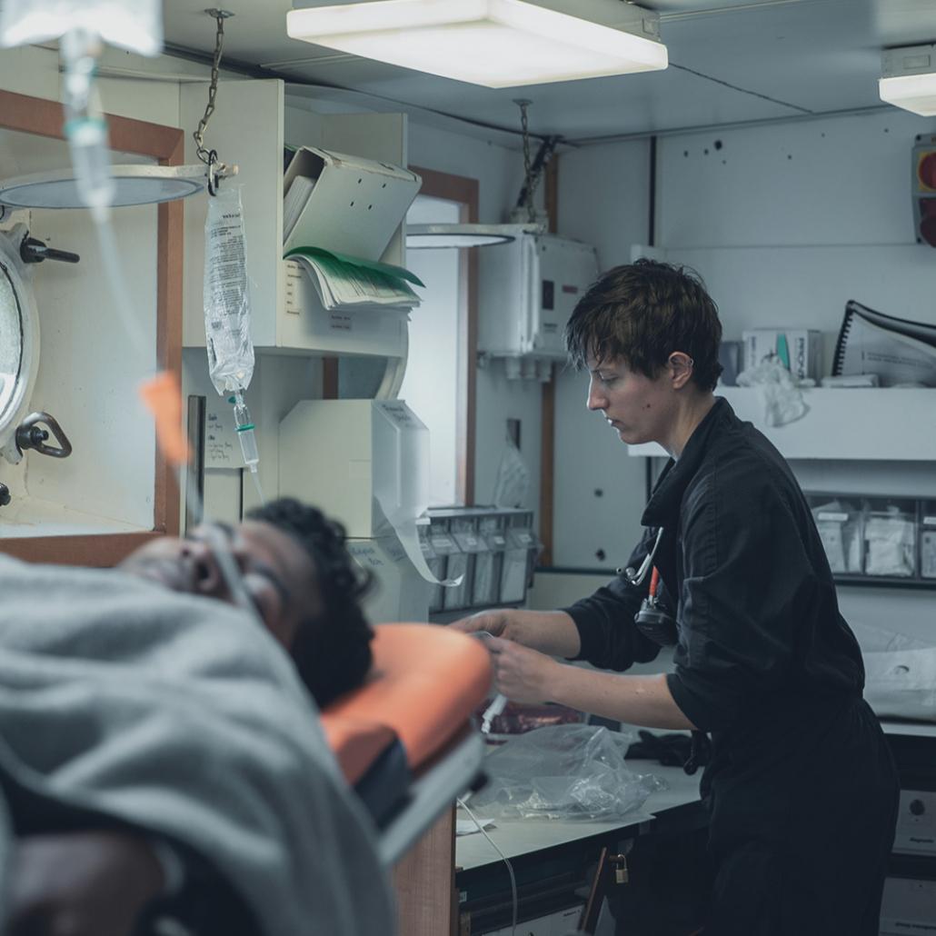 Krankenstation der ALAN KURDI
