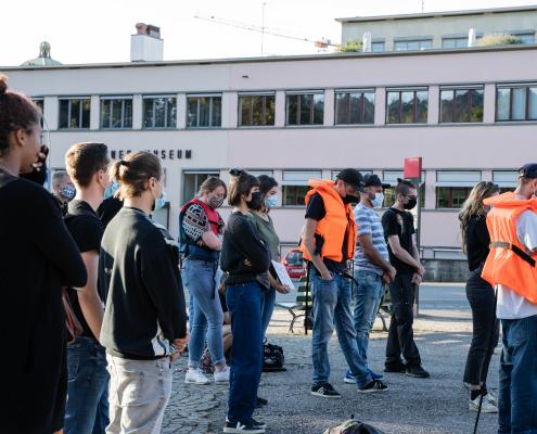Mahnwache für die Familie Kurdi in Bern