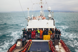 Crew der ALAN KURDI