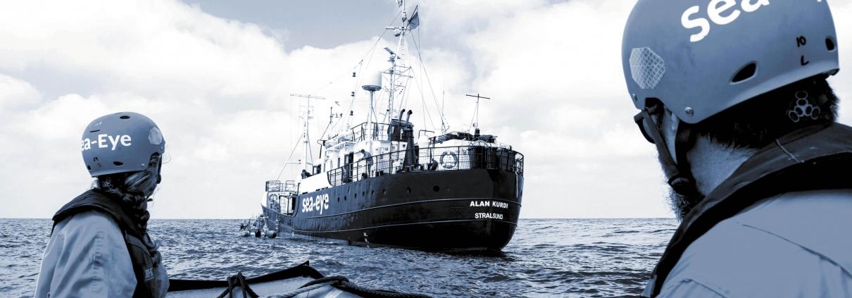 Vier Jahre Seenotrettung: Seecrew