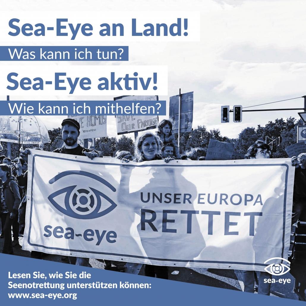 Vier Jahre Seenotrettung: Unsere Landcrew