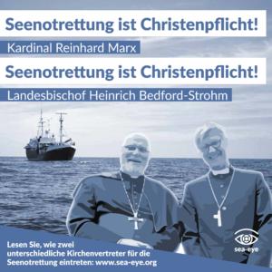 Vier Jahre Seenotrettung: Seenotrettung ist Christenpflicht