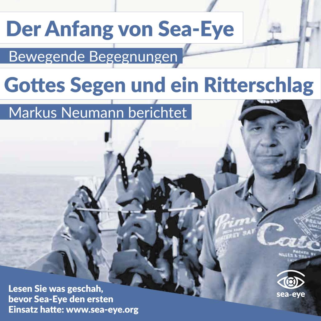Vier Jahre Seenotrettung: Gottes Segen und ein Ritterschlag