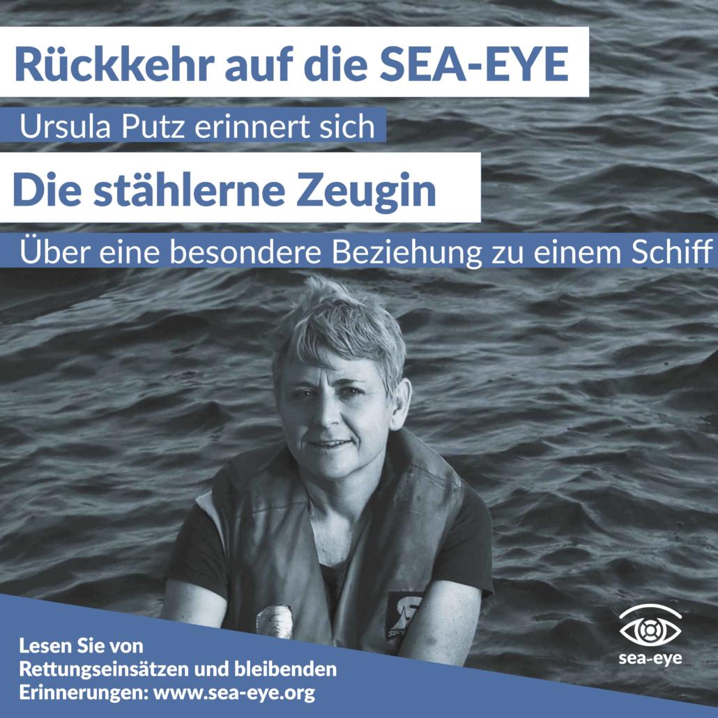 Vier Jahre Seenotrettung: Rückkehr auf die alte Dame