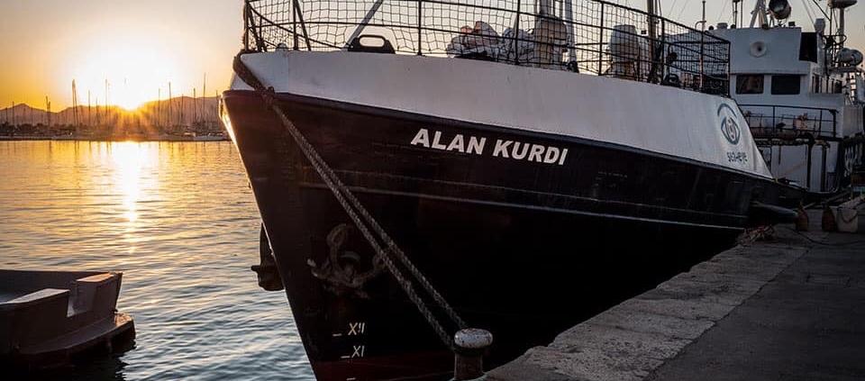 ALAN KURDI im Hafen
