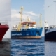 OCEAN VIKING, SEA-WATCH 3 und ALAN KURDI