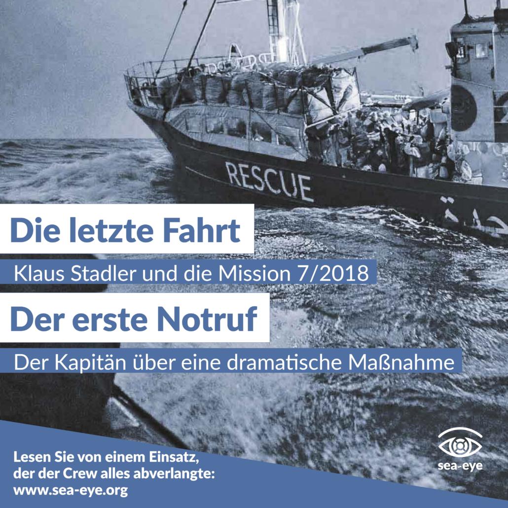 Vier Jahre Seenotrettung: Die letzte Fahrt