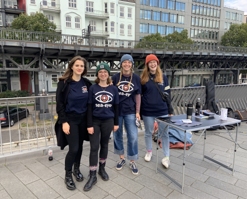 Infostand der Lokalgruppe Hamburg