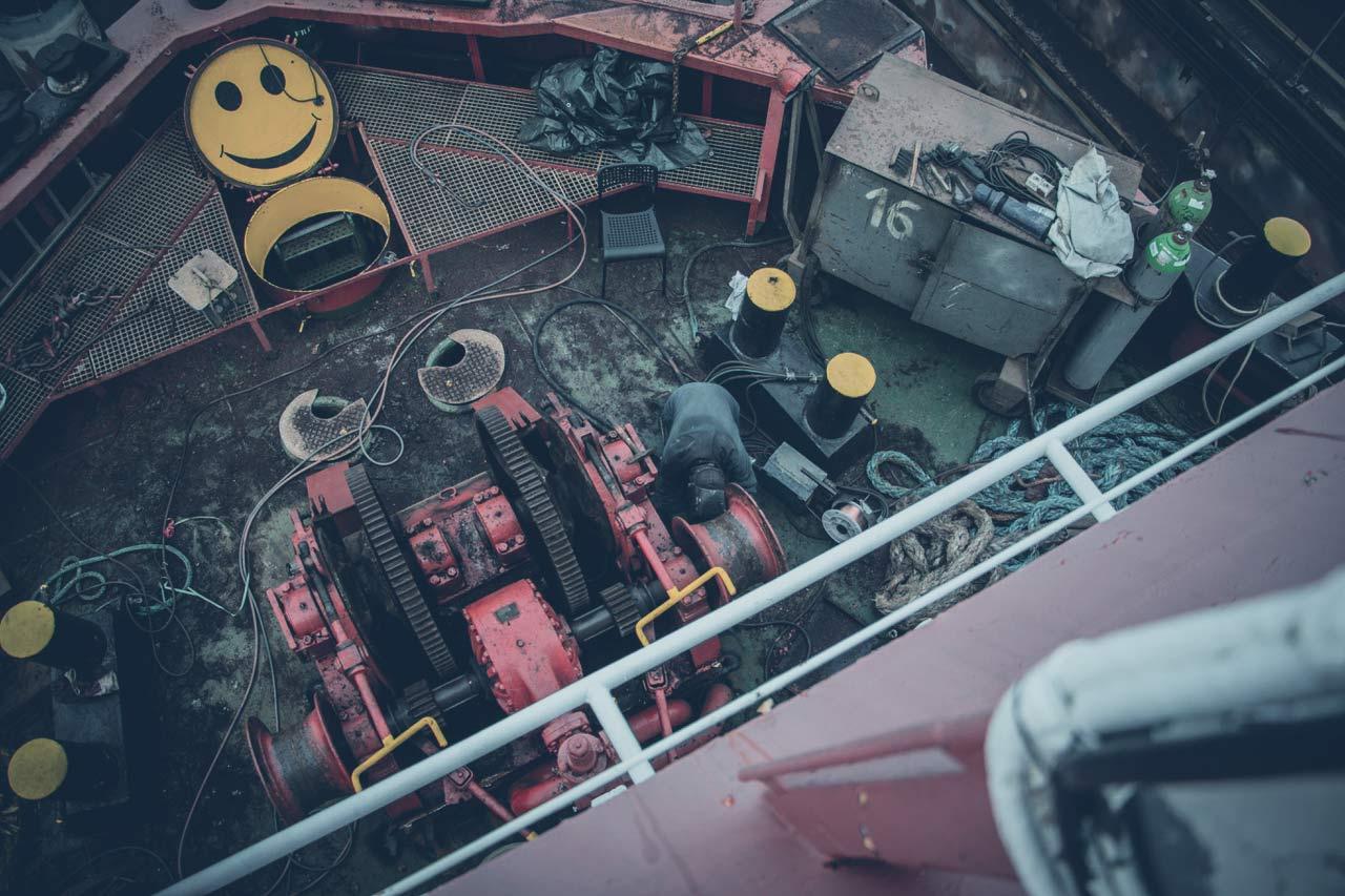 SEA-EYE 4: Werftarbeiten