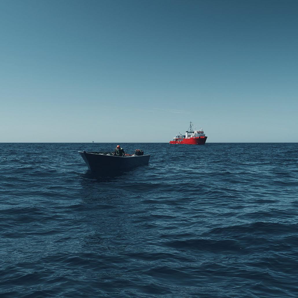 Boot und SEA-EYE 4