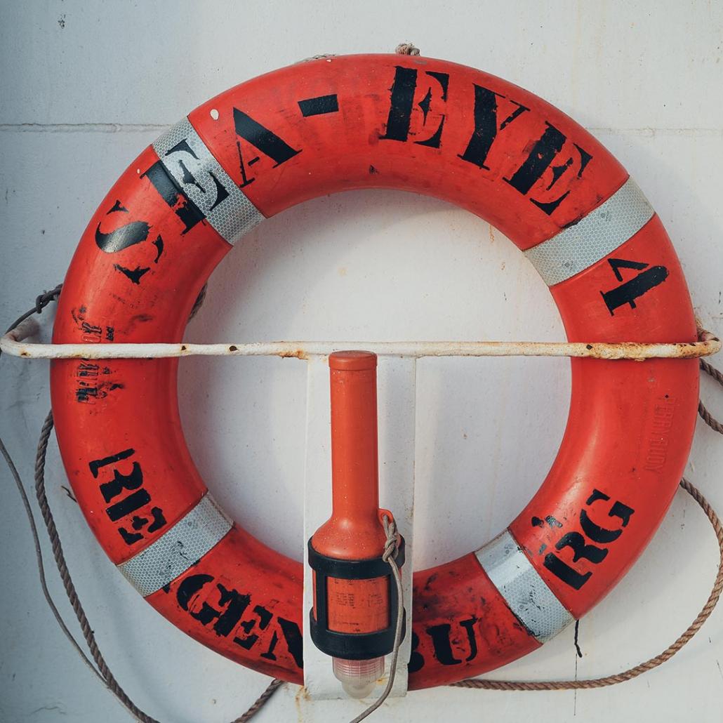 SEA-EYE 4: Rettungsring