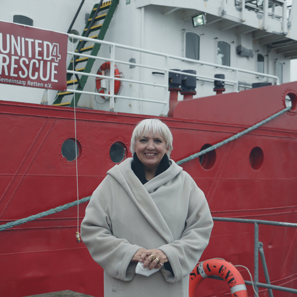 Claudia Roth: Bundestagsvizepräsidentin
