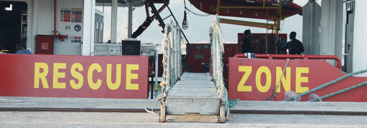 Rescue Zone SEA-EYE 4