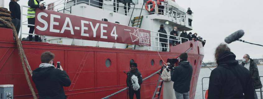 SEA-EYE 4: Schiffstaufe