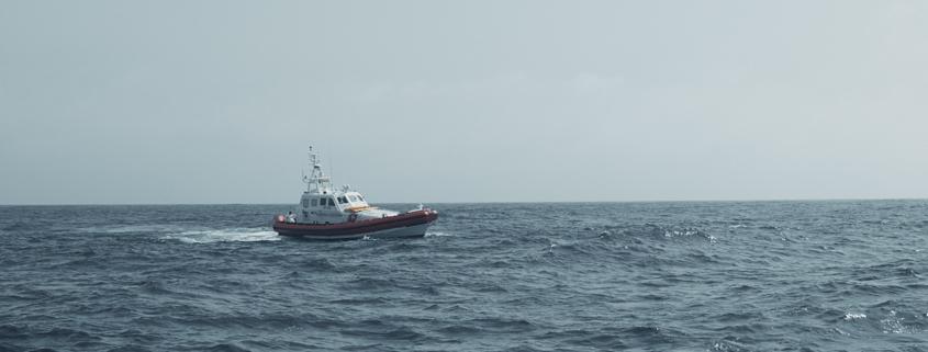 Küstenwache im Mittelmeer