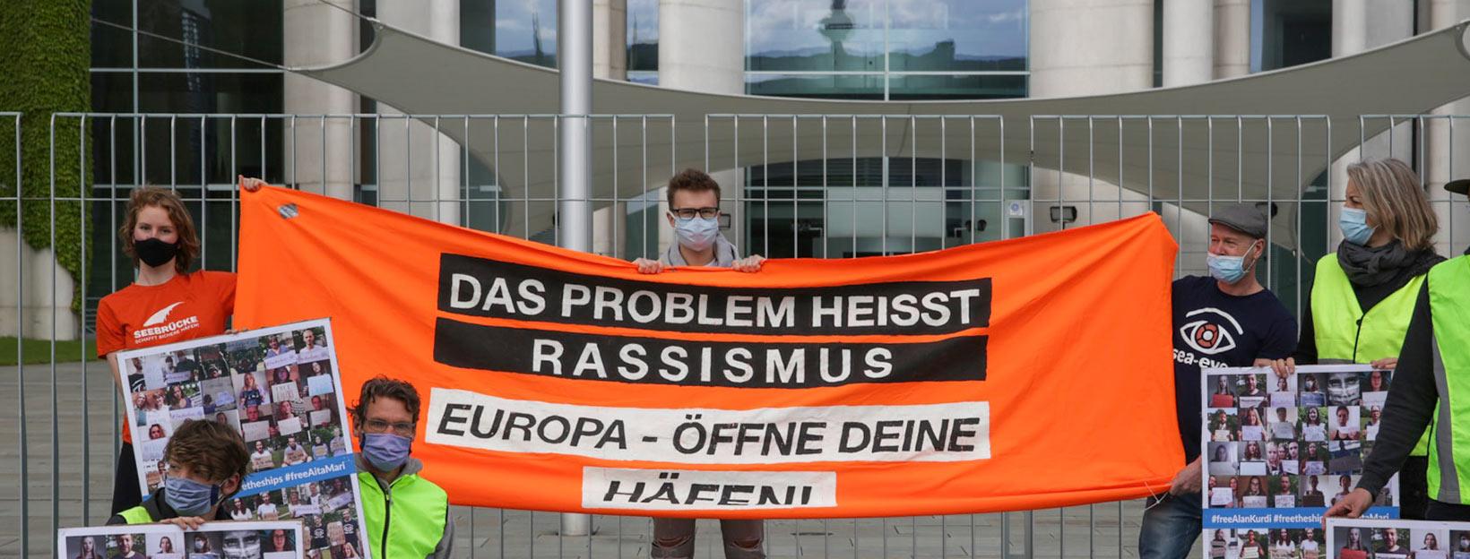 Demonstration in Berlin © Sophie Seydel